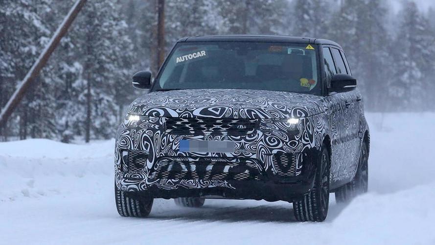 Le Range Rover PHEV débusqué !