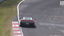 2018 Chevy Corvette ZR1 screenshots from spy video