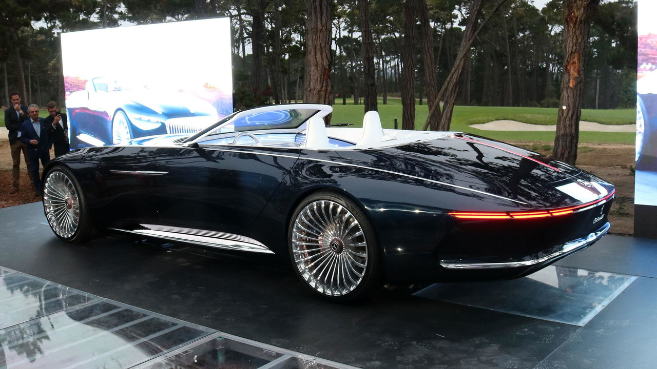 Vision Mercedes-Maybach 6 Cabriolet tanıtım