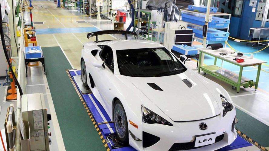 Lexus LFA production ends