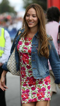 Jessica Michibata - girlfriend of Jenson Button