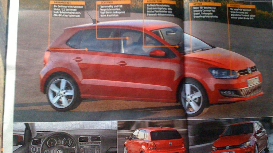 New VW Polo Scans Leak