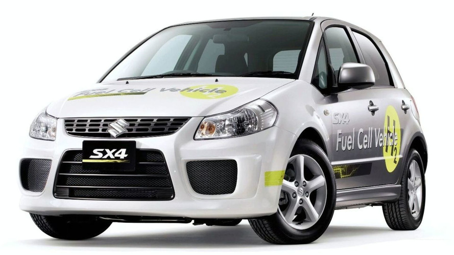 Suzuki Announces SX4 Fuel Cell Vehicle Concept for Tokyo Debut