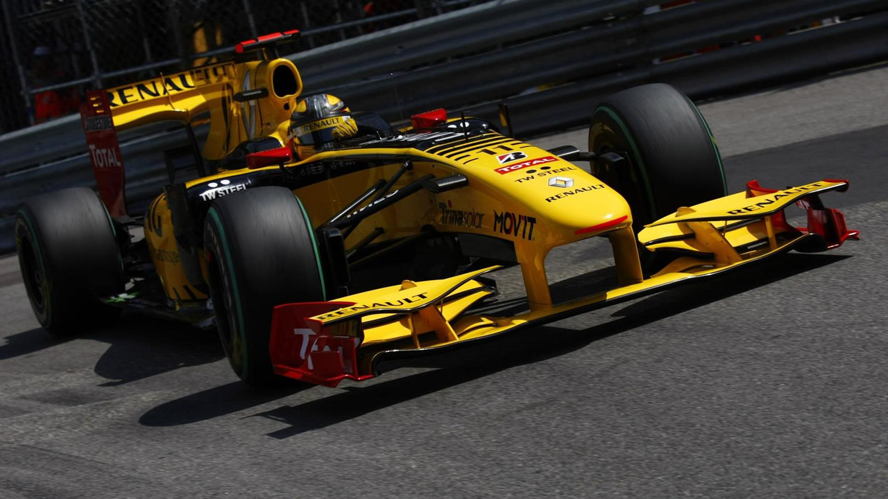 Robert Kubica, Renault R30. Action