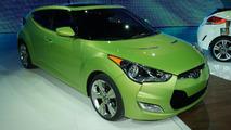 2012 Hyundai Veloster live in Detroit 10.01.2011