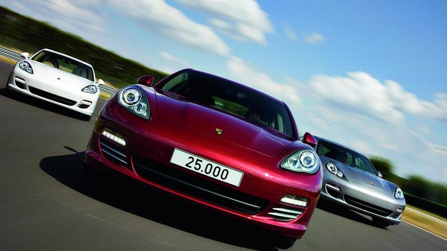 25,000th Porsche Panamera built