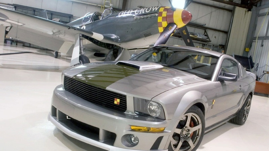 Roush Announces Second P-51 Mustang Tribute Car