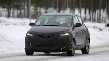 2016 Lancia Ypsilon facelift spy photo