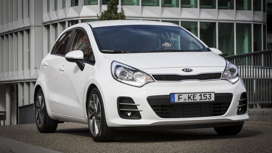 Kia reveales mildly updated Rio ahead of Paris debut