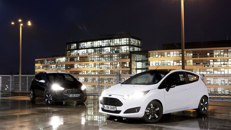 Ford launches Black and White Editions for Fiesta and Ka