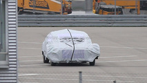 Mercedes autonomous driving concept spy photo