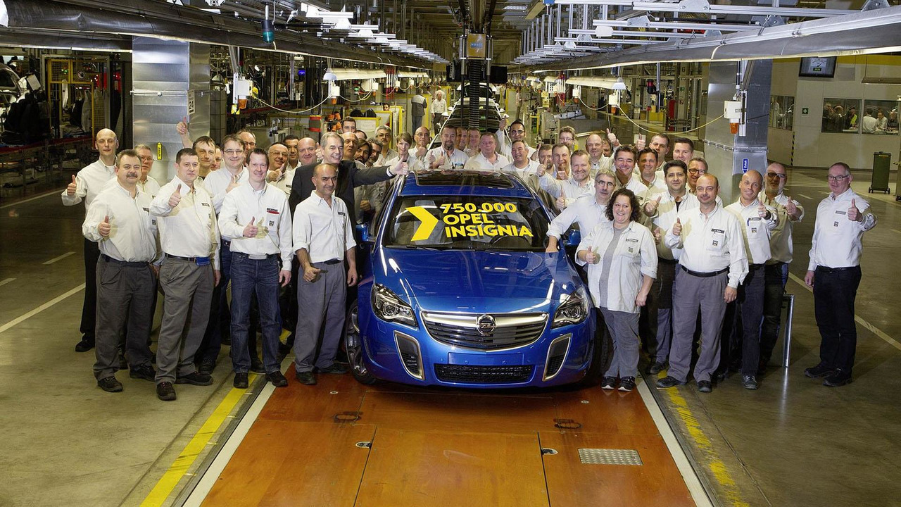 750,000th Opel Insignia
