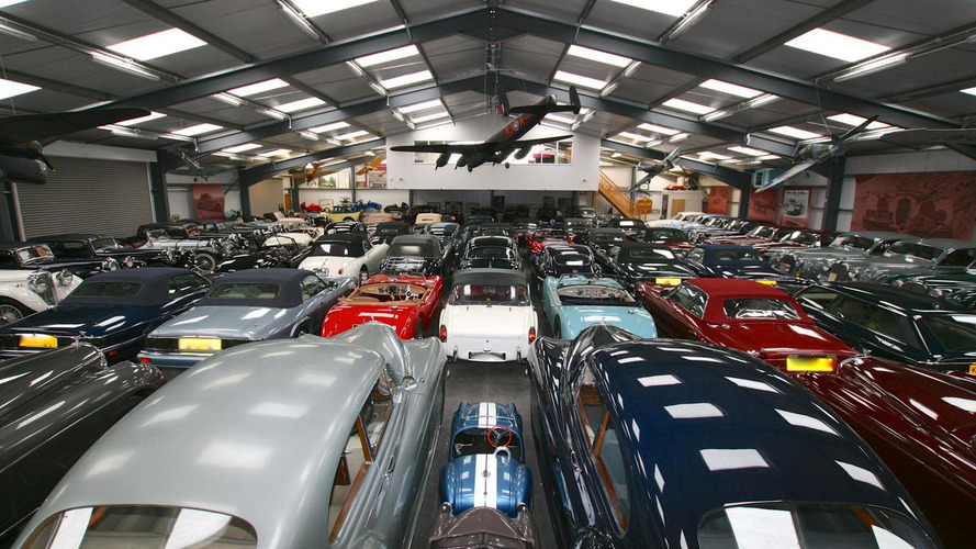 Jaguar Land Rover buys largest privately owned collection of classic British cars