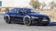 2019 Audi RS7 Sportback spy photo