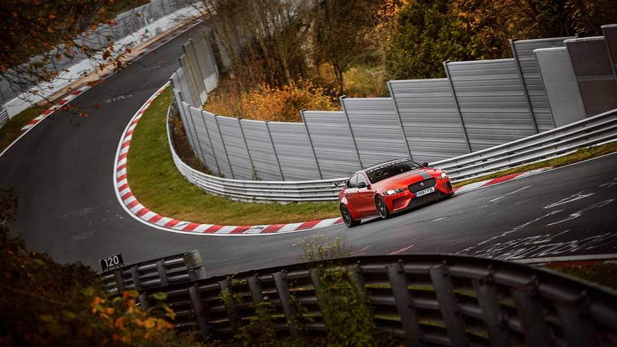 Jaguar XE SV Project 8 officially fastest saloon round the 'Ring