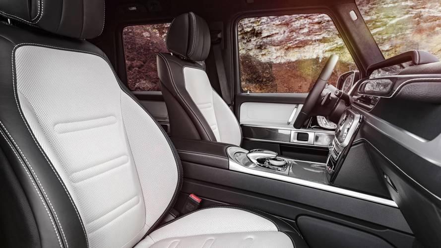 2018 Mercedes G-Class interior