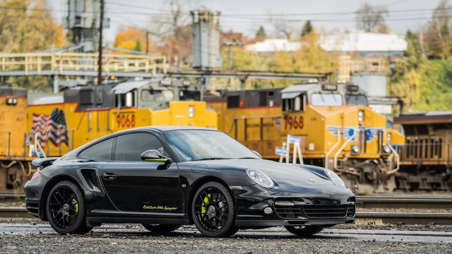 Rare Porsche 911 Edition 918 Spyder Is Ready For A New Owner