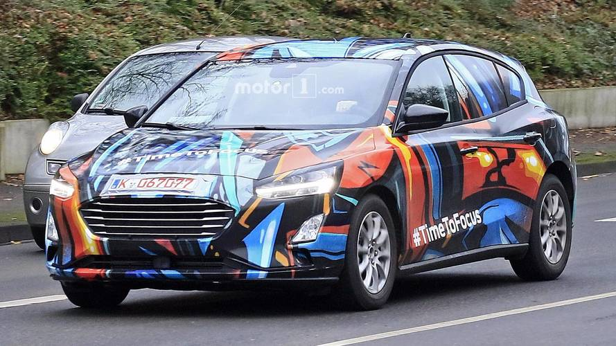 2019 Ford Focus new spy images