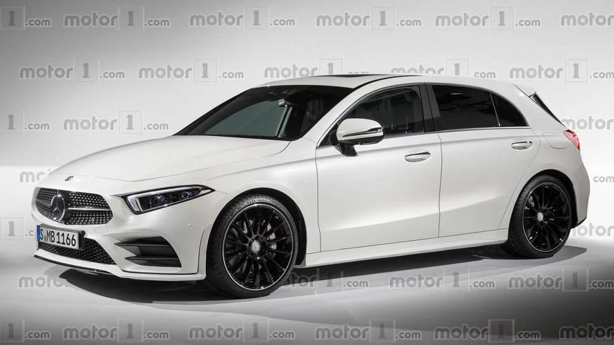 Projeção antecipa o novo Mercedes-Benz Classe A 2018