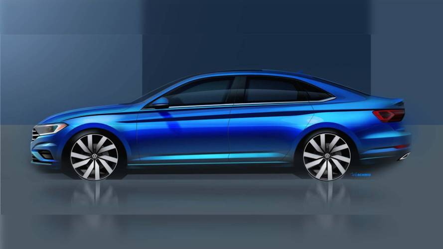 Volkswagen, yeni Jetta'nın teaser'ını yayınladı
