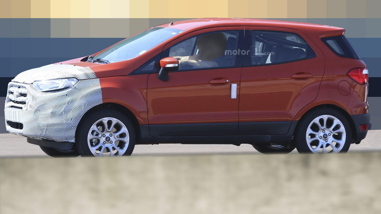 2018 ford nightmare. exellent ford 2018 ford ecosport spy photo in ford nightmare