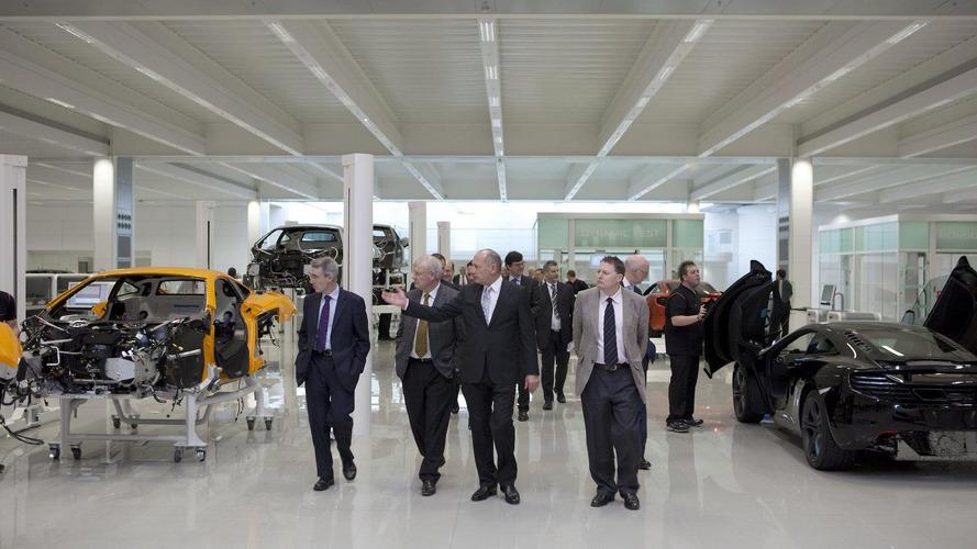 McLaren Production Centre grand opening