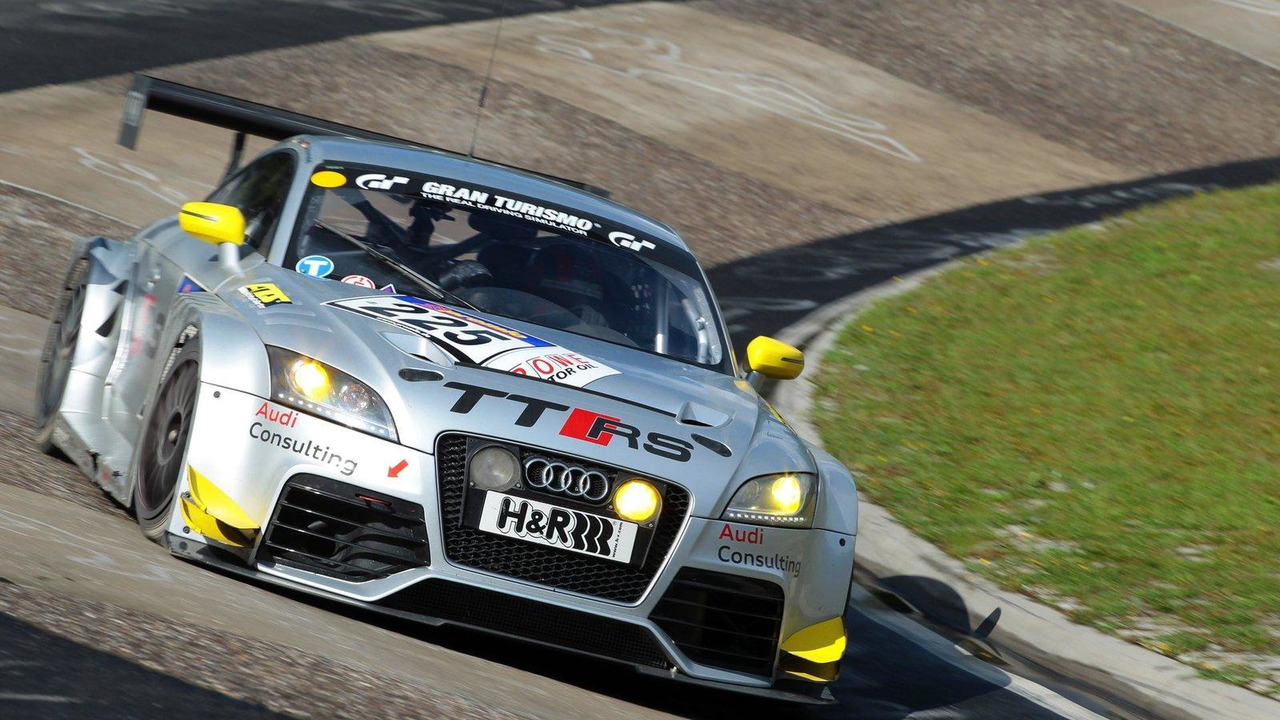 Audi TT RS race version 08.09.2011