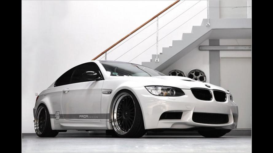 BMW-M3-Gefühle: Prior Design macht das Dreier Coupé breit