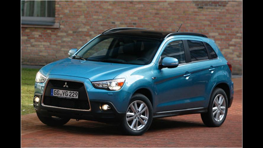 Mitsubishi ASX: Kompakt-SUV zum Knaller-Preis