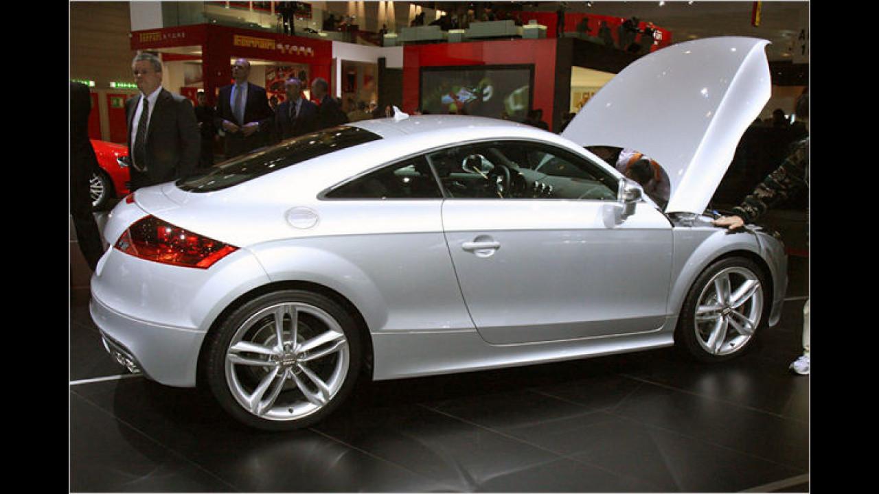Audi TTS: Nur Details deuten auf die 272 Turbo-PS hin