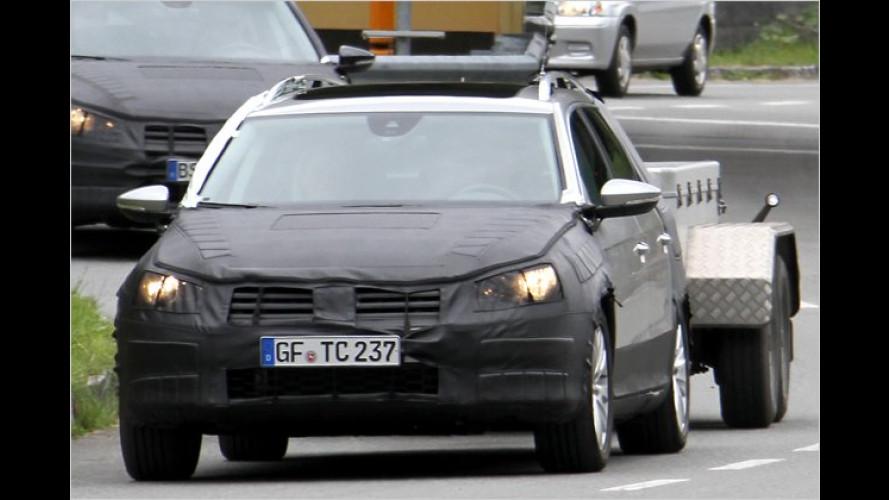 Abgepasst: VW testet CrossPassat-Prototyp