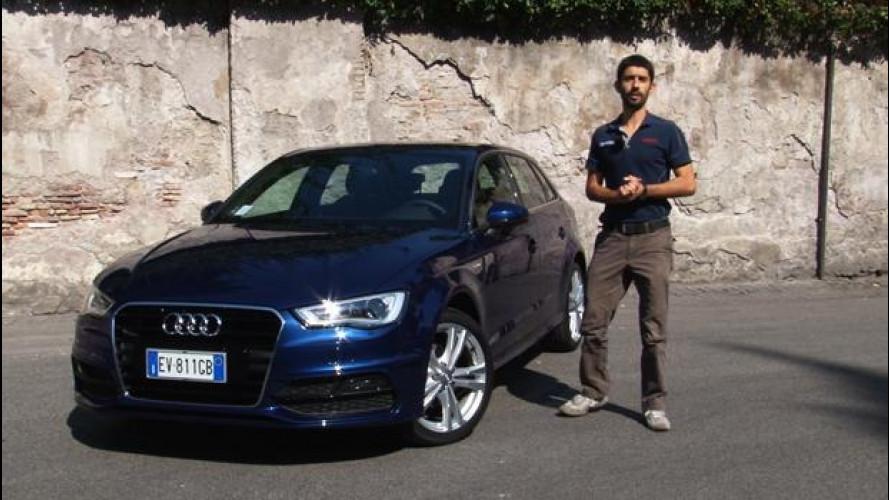 """Audi A3 g-tron, quando risparmiare è da """"ricchi"""" [VIDEO]"""