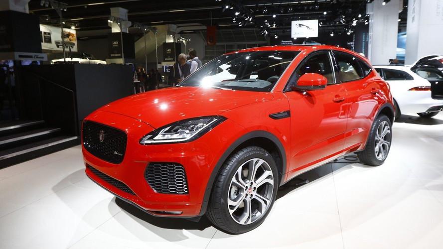 2018 - Jaguar E-Pace au Salon de Francfort