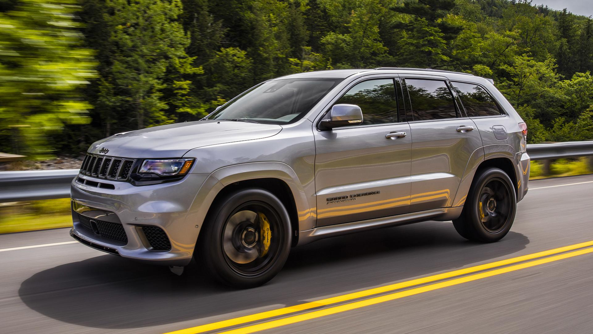 2018 Jeep Grand Cherokee Trackhawk First Drive: Hellcat ...