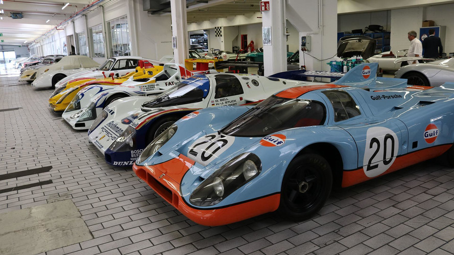 See The Porsche Museum's Off-Site Storage Facility In 93 Photos