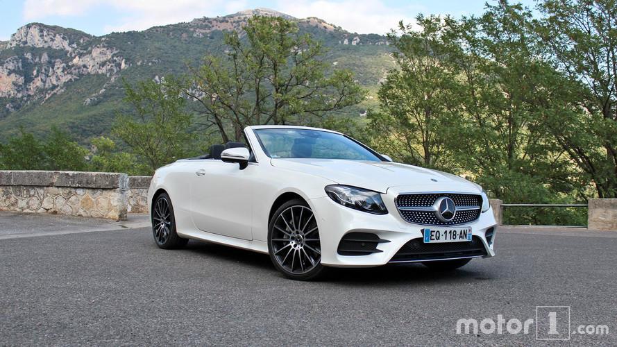 Essai Mercedes Classe E Cabriolet - Élégance et raffinement les cheveux au vent