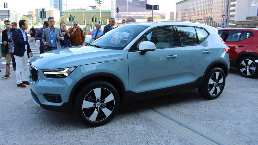 2018 volvo xc40. perfect volvo to 2018 volvo xc40
