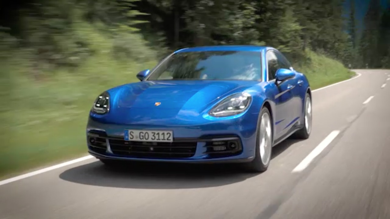 2017 Porsche Panamera Video