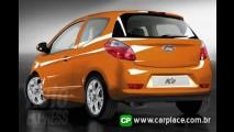 Novo Ford KA 2009 - Revista britânica mostra fotos do novo modelo