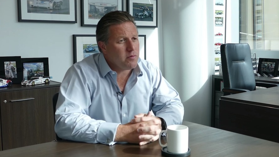 Zak Brown talks to Peter Windsor about the future of F1
