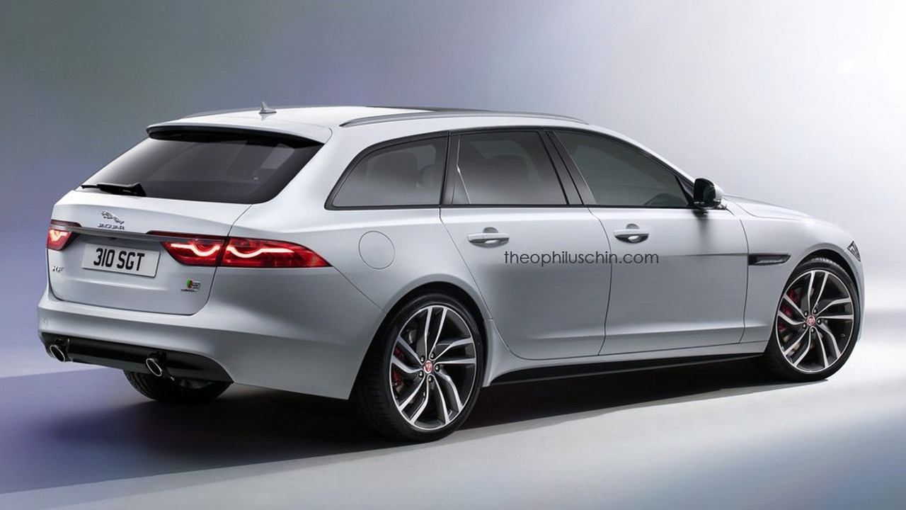 la nouvelle jaguar xf sportbrake confirm e pour 2017. Black Bedroom Furniture Sets. Home Design Ideas