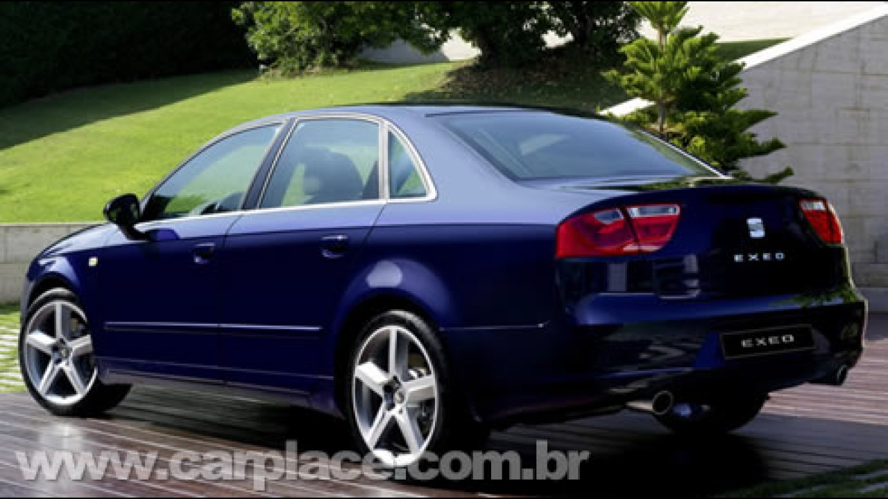 Novo Seat Exeo 2009 - Nova geração do sedan tem linhas inspiradas no Audi A4