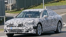 2019 Audi S8 spy photos