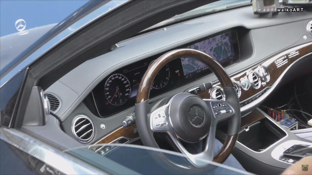 2018 Mercedes S Class headlights