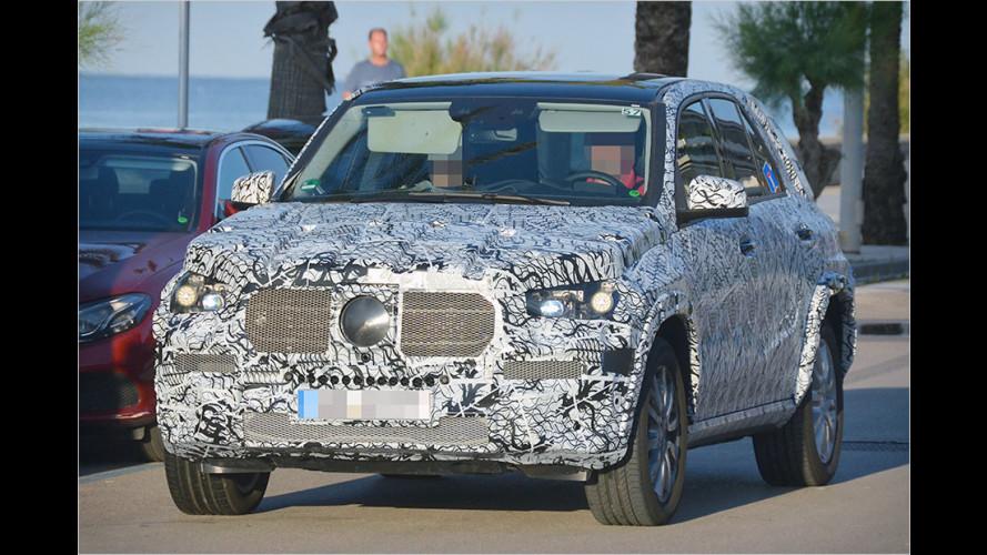 Erwischt: Neuer Mercedes GLE