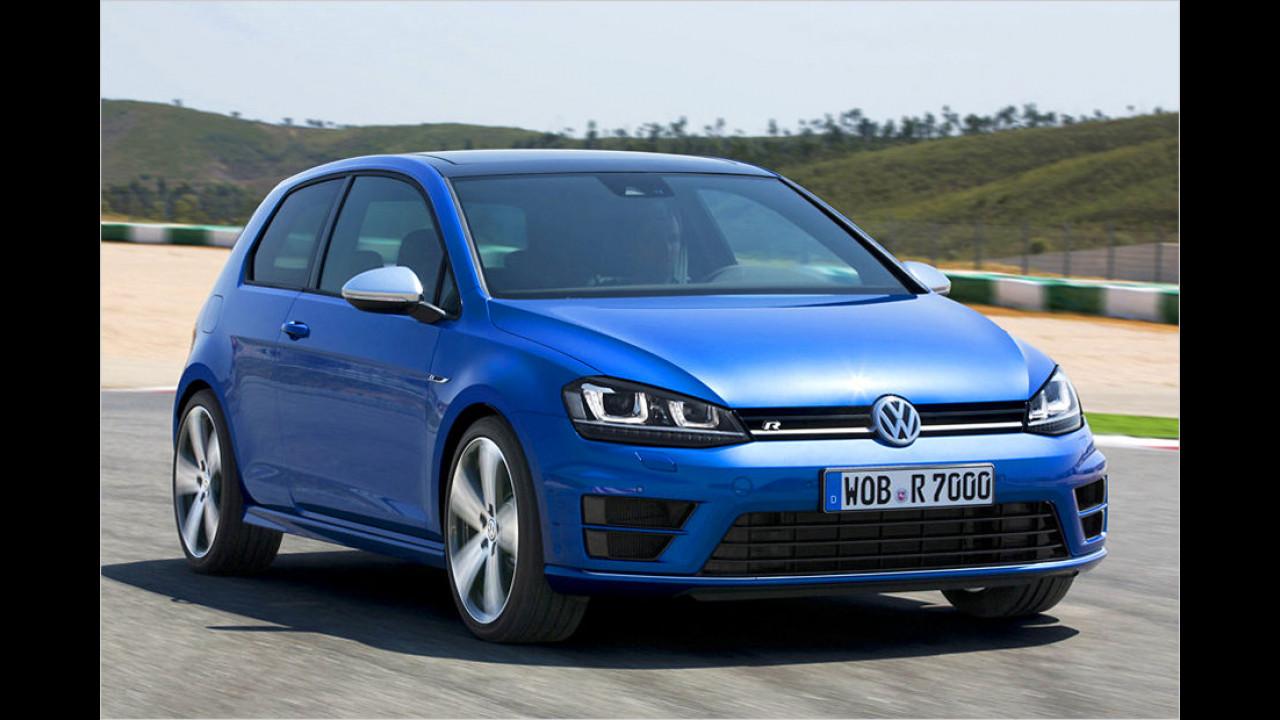 VW Golf R DSG: 4,9 Sekunden