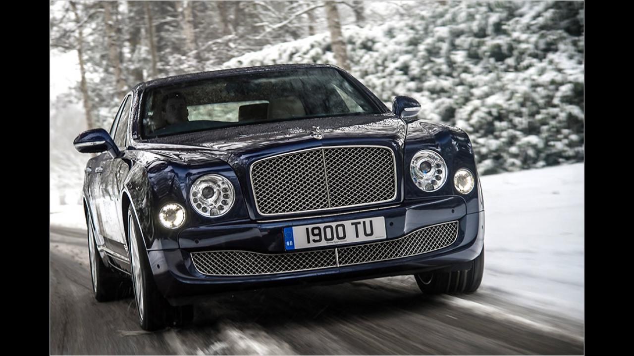 Bentley Mulsanne: Fast 300.000 Euro kostet er, nur 20-mal wurde er frisch mit Nummernschildern bestückt