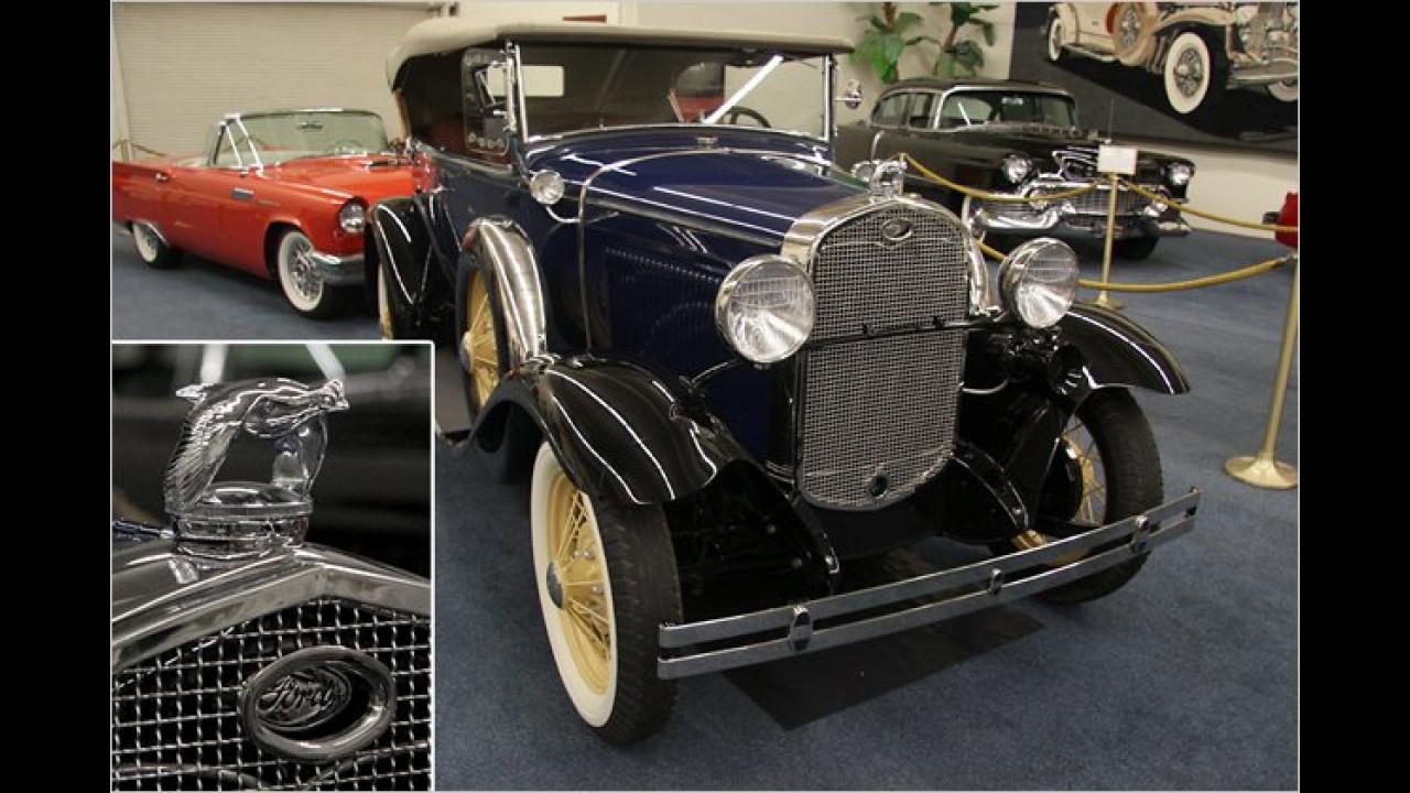 1931 Ford Model A 2-Door Deluxe Phaeton