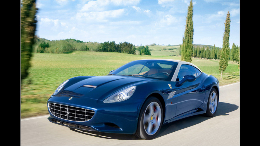 Neuer Ferrari California: 30 runter, 30 drauf