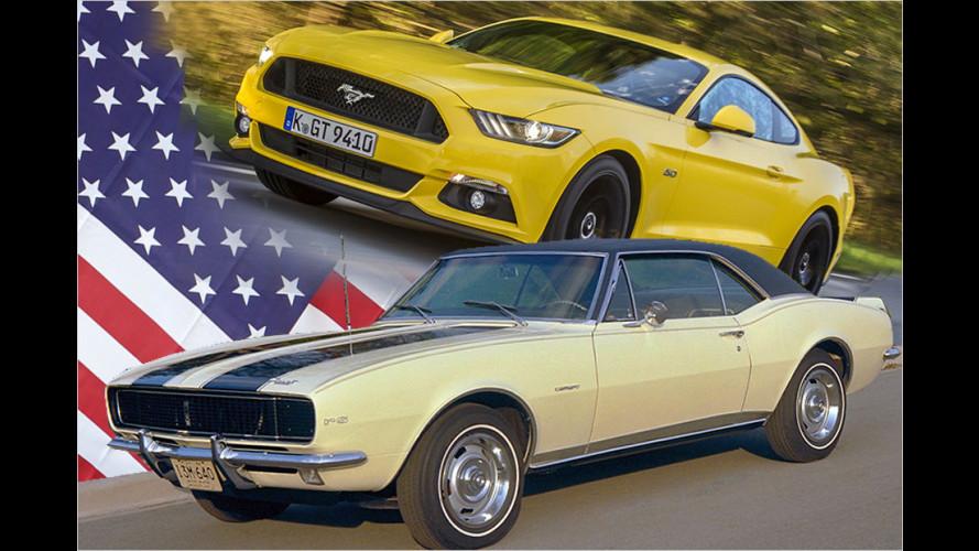 Die besten US-Sportwagen aller Zeiten